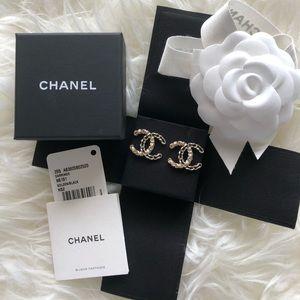 Chanel CC Earrings